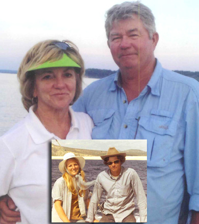 David 'Dirt' and Connie King Then and Now
