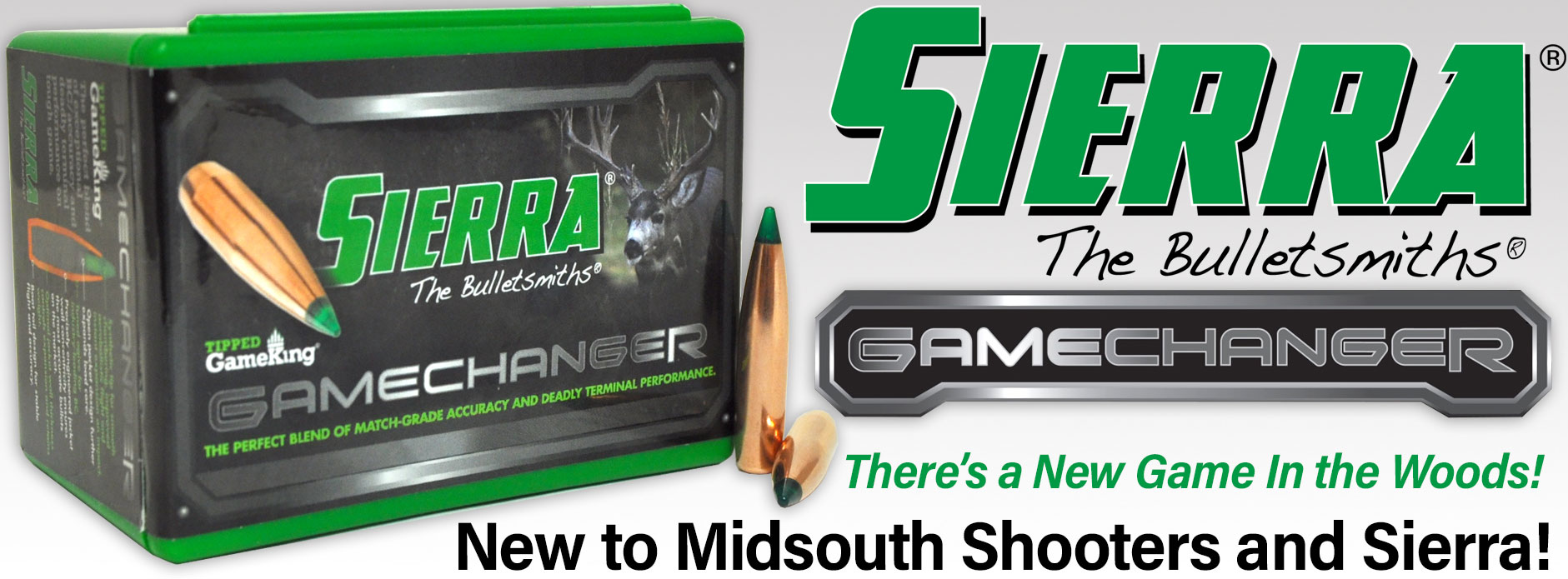 New Sierra GameChanger Bullets! | Midsouth Shooters Supply