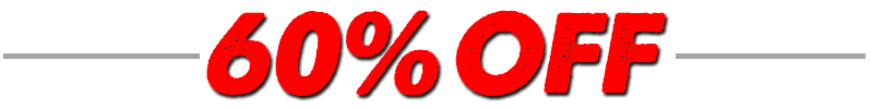 60 Percent Off Special Order Items