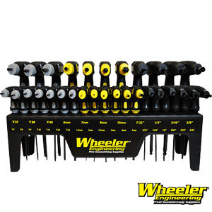 The Wheeler Engineering HEX/Metric P-Handle Wrench Set