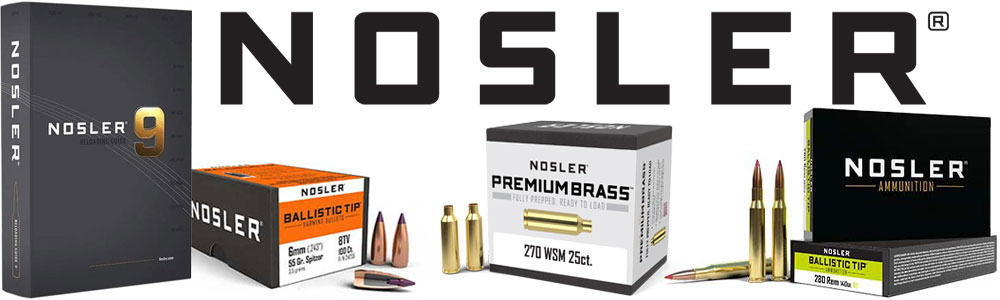 Nosler | Bullets, Ammo and Brass - Midsouth Shooters