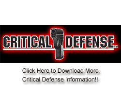 Critical Defense Info!