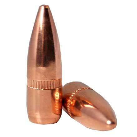22 Caliber .224 Diameter 55 Grain Full Metal Jacket Boat Tail With Cannelure 500 Count