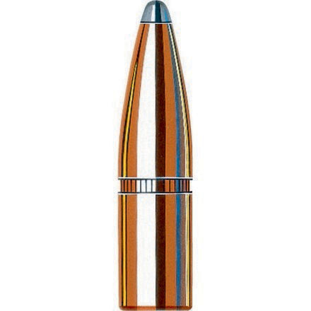 338 Caliber .338 Diameter 250 Grain Spire Point With Cannelure 100 Count