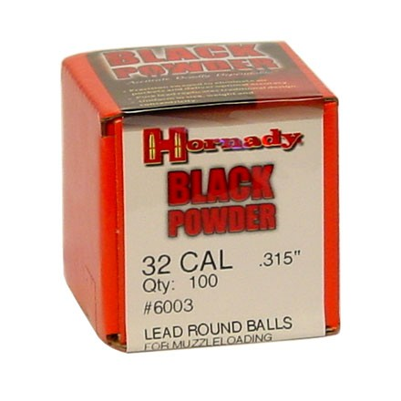 Image for .315 Diameter Lead Round Balls 100 Count