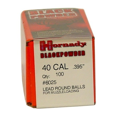 Image for .395 Diameter Lead Round Balls 100 Count