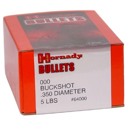 ' alt='#000 .350 Diameter Buckshot 5 Pounds' />