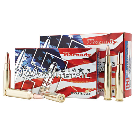 243 Winchester 100 Grain BTSP American Whitetail 20 Rounds