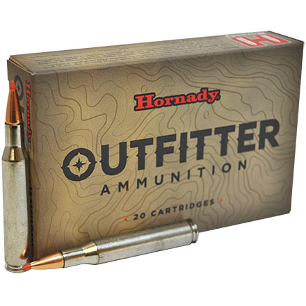 270 Winchester 130 Grain GMX Outfitter 20 Rounds