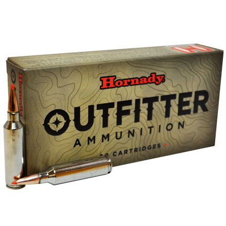 7mm Winchester Short Mag (WSM) 150 Grain GMX Outfitter 20 Rounds