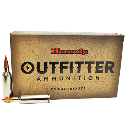 270 Winchester Short Mag (WSM) 130 Grain GMX Outfitter 20 Rounds