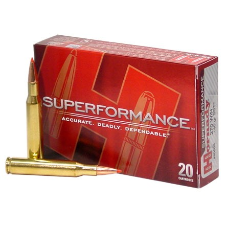 Image for 270 Winchester 140 Grain (SST) Super Shock Tipped  Superformance 20 Rounds