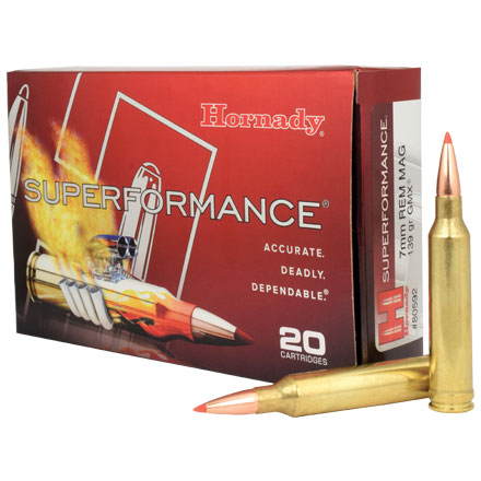 7mm Remington Mag 139 Grain GMX Superformance 20 Rounds