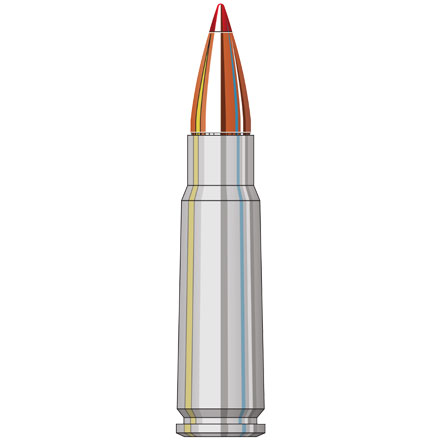 7.62x39mm 123 Grain (SST) Super Shock Tipped Steel 50 Rounds