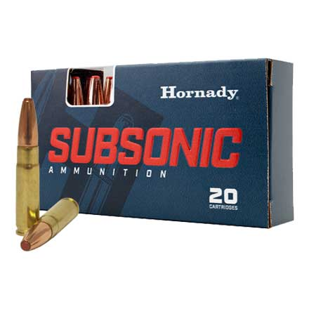 300 Blackout 190 Grain SUB-X 20 Rounds