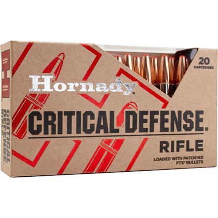308 Winchester 155 Grain FTX Critical Defense 20 Rounds
