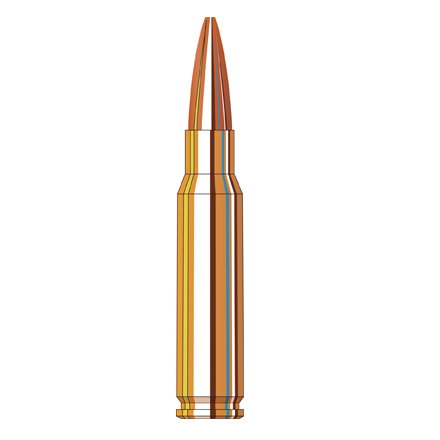 308 Winchester 178 Grain Boat Tail Hollow Point Custom Match