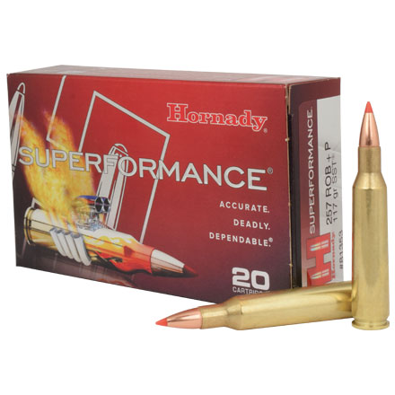 257 Roberts +P 117 Grain (SST) Super Shock Tipped Superformance 20 Rounds