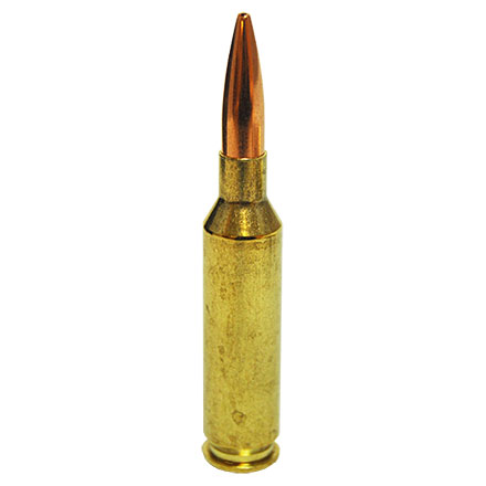 6mm Creedmoor 105 Grain Boat Tail Hollow Point Black 20 Rounds
