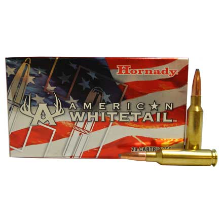 6.5 Creedmoor 129 Grain Interlock American Whitetail 20 Rounds