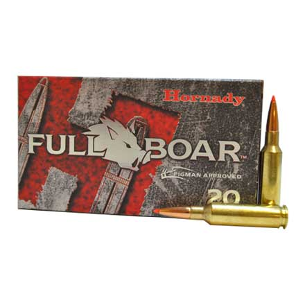 6.5 Creedmoor 120 Grain GMX Full Boar 20 Rounds