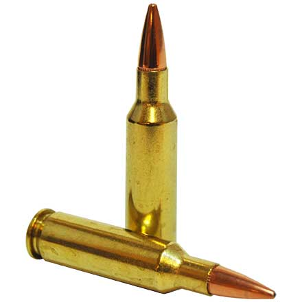 224 Valkyrie 75 Grain Boat Tail Hollow Point Black 20 Rounds