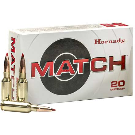 6mm ARC 108 Grain ELD Match 20 Rounds