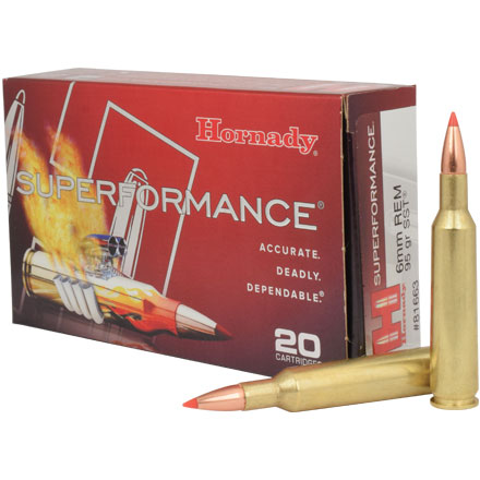 6mm 95 Grain (SST) Super Shock Tipped Superformance 20 Rounds