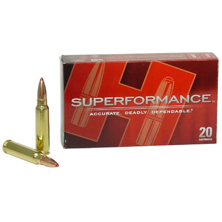 300 Savage 150 Grain (SST) Super Shock Tipped Superformance 20 Rounds