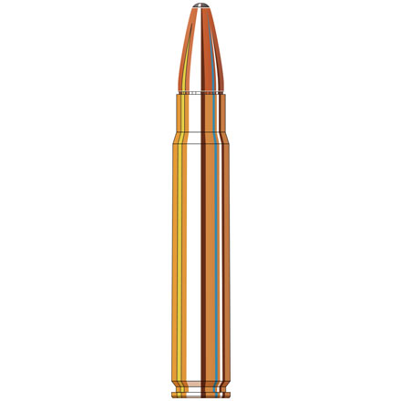 9.3x62 286 Grain Spire Point Recoil Proof 20 Rounds