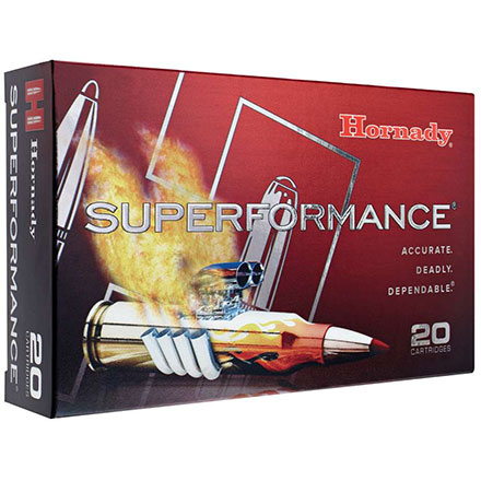 223 Remington 55 Grain GMX Superformance 20 Rounds