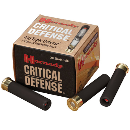 "410 Bore Triple Critical Defense 2-1/2"" 20 Rounds"