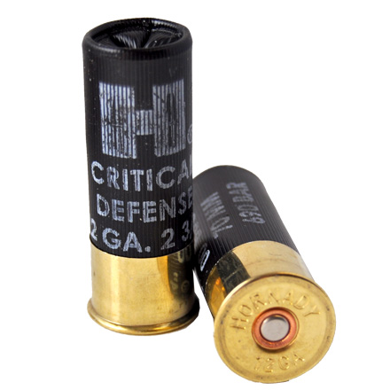 "12 Gauge 2-3/4"" #00 Buckshot Critical Defense 10 Rounds"