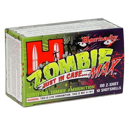 "Image for 12 Gauge 2-3/4""#00 Buck Z-Max Zombie 10 Rounds"
