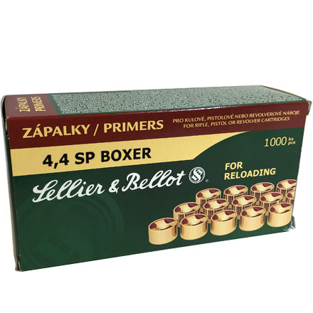 Sellier and Bellot Small Pistol Primers 1000 Count