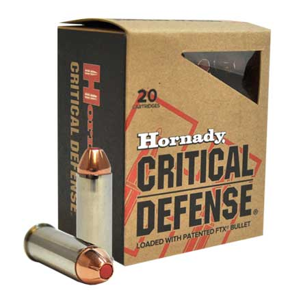 44 Special 165 Grain FTX Critical Defense 20 Rounds