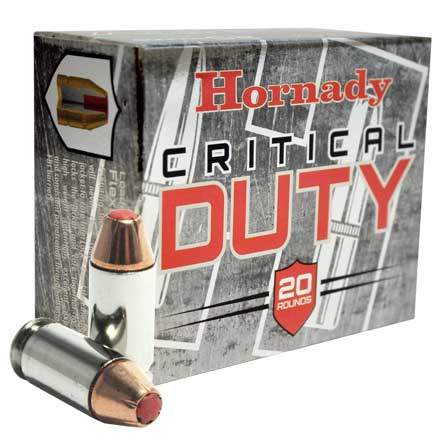 45 Auto Plus P 220 Grain Flex Lock Critical Duty 20 Rounds