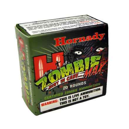 Image for 40 S&W 165 Grain Z-Max Zombie 20 Rounds