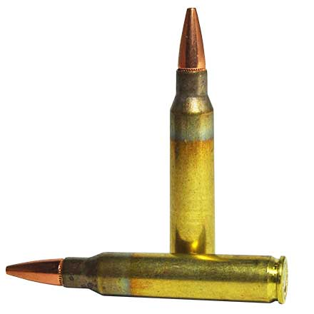 5.56 Nato 62 Grain Boat Tail Hollow Point Match 20 Rounds