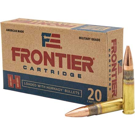 Frontier 300 Blackout 125 Grain Full Metal Jacket 20 Rounds