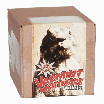 Varmint Nightmare 22 Caliber .224 Diameter 55 Grain Boat Tail Soft Point 2000 Count