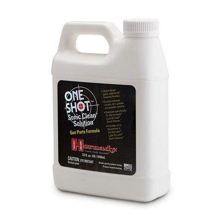 One Shot Sonic Clean Gun Parts Case Formula 32 Oz