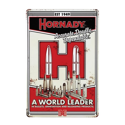 Image for Hornady Vintage Metal Sign