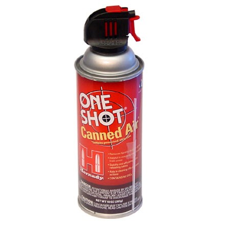 One-Shot Canned Air 10 Oz