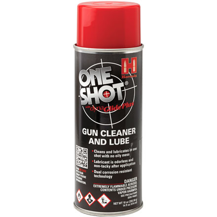 One-Shot Gun Cleaner 10 Oz With Dyna Glide Plus