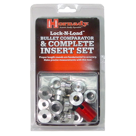 Image for Lock-N-Load Bullet Comparator Set (Body With 14 Inserts)