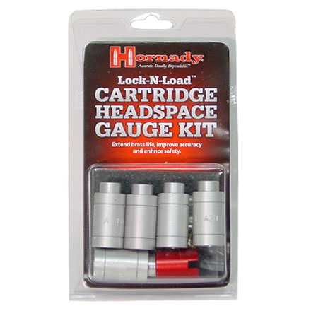 Lock-N-Load Cartridge Headspace Gauge 5 Bushing Kit With Body