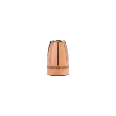 Image for 9mm .355 Diameter 125 Grain Jacketed Hollow Point V- Crown 100 Count