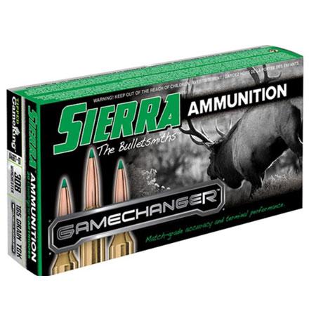 308 Winchester 165 Grain GameChanger Tipped Gameking 20 Rounds