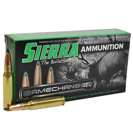 308 Winchester 165 Grain GameChanger Tipped Gameking 20 Rounds